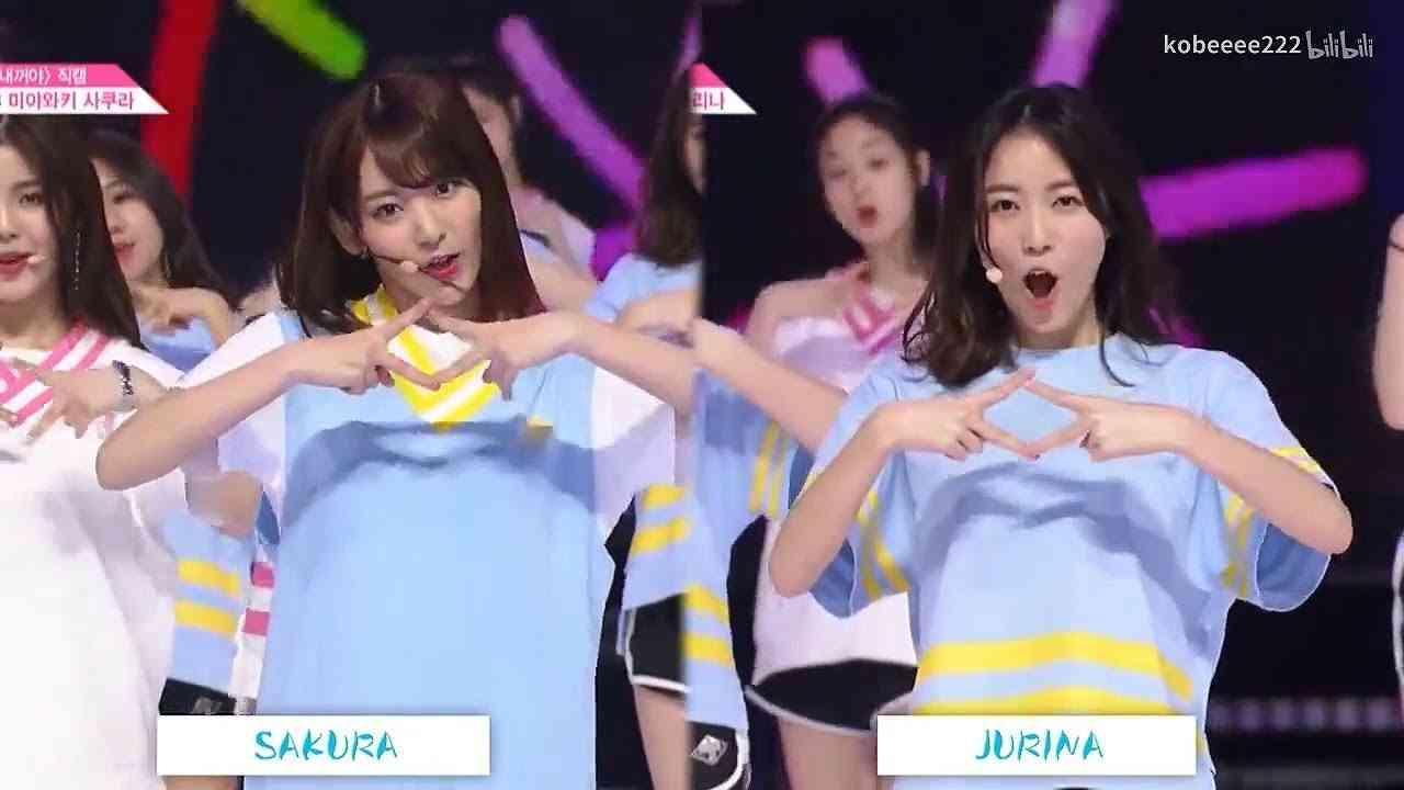 PD48 Miyawaki Sakura & Matsui Jurina Dance Comparison PRODUCE48 NEKKOYA 宮脇咲良 松井珠理奈 AKB48 SKE48 HKT48 - YouTube