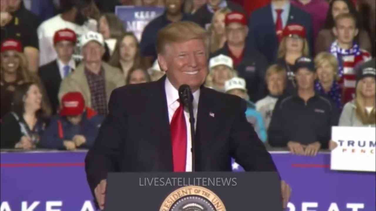Supporter Calls for Trump to Get Nobel Peace Prize, Trump Laughs April 28, 2018 - YouTube