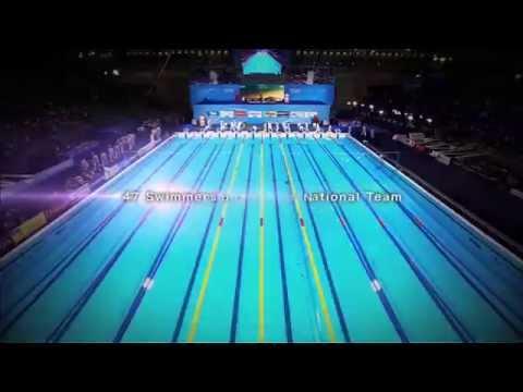 パンパシ水泳 ウルトラソウル日本代表47人ver - YouTube