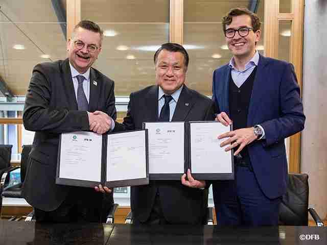 ドイツサッカー連盟とのパートナーシップ協定を再締結 | JFA|公益財団法人日本サッカー協会