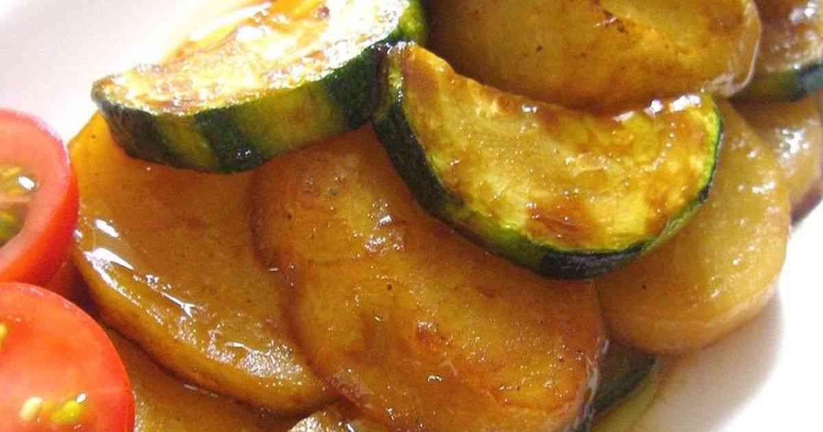 ズッキーニとジャガイモの醤油ドレマリネ by エルン♪ 【クックパッド】 簡単おいしいみんなのレシピが292万品