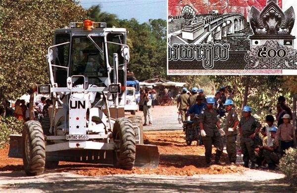 【世界に称賛される自衛隊】カンボジア紙幣に描かれた「日の丸」 日本政府の支援に対する感謝の気持ち (1/2ページ) - zakzak