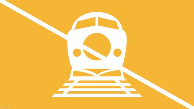 東海道新幹線 静岡ー掛川間 強風のため運転見合わせ | NHKニュース