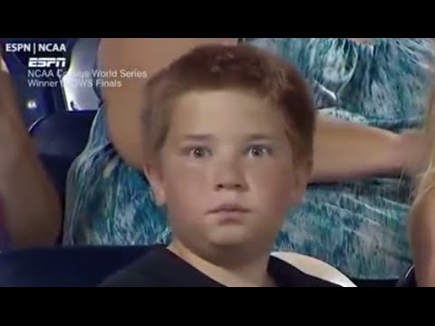 Boy's Epic Staredown Battle Goes Viral - YouTube