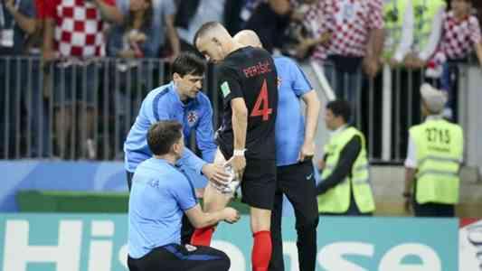 クロアチアの決勝戦に暗雲…躍進立役者ペリシッチがふともも負傷で病院へ | Goal.com