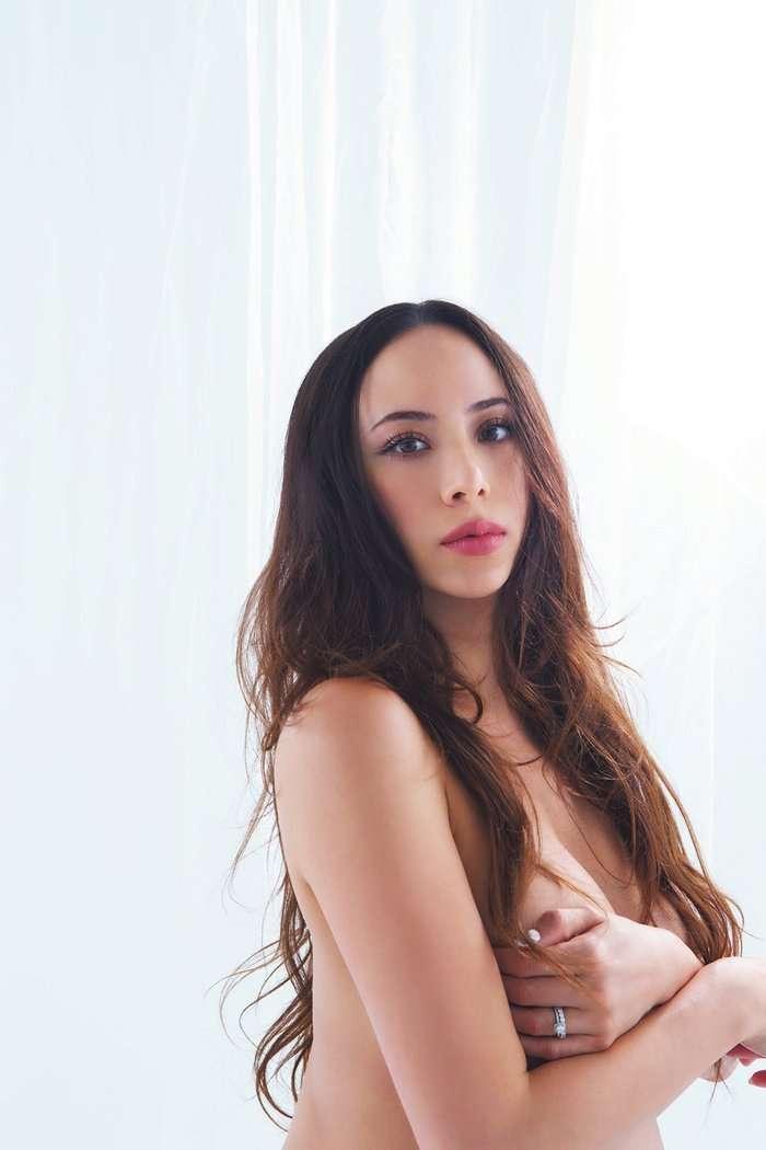 道端アンジェリカ、手ブラのマタニティフォト「自然体な自分を撮ってほしい」 - モデルプレス