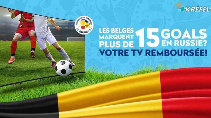 「ベルギー代表が16点以上ゴールすればテレビ購入代金を全額返金する」という一大キャンペーンの行方は? - グノシー