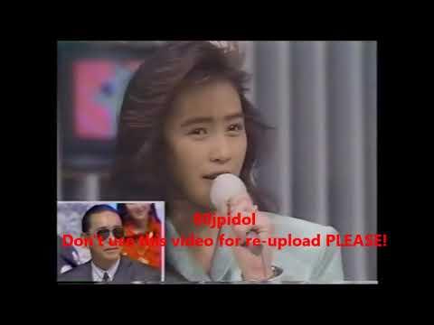 1990年 工藤静香 面白いトーク集 くちびるから媚薬 - YouTube