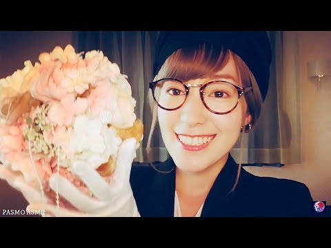 [Sub]ASMR 日本語 Wedding Makeup Artist Roleplay Japanese / ブライダルメイクRoleplay - YouTube