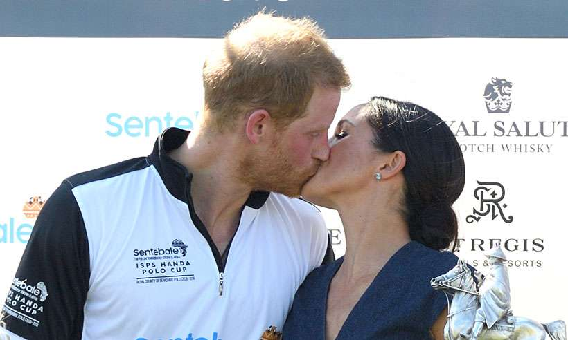 Watch: The sweet kiss Meghan Markle planted on her champion Prince
