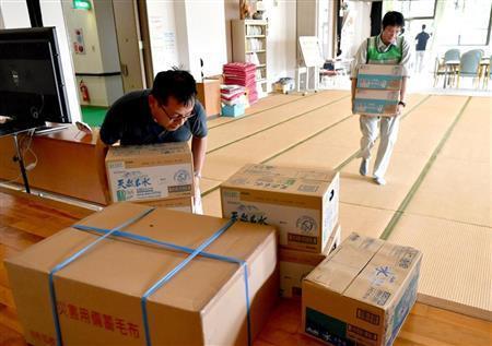 台風12号接近 被災地に避難所増設 「被害拡大しないよう祈るばかり」(産経新聞) - Yahoo!ニュース