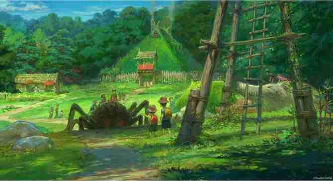 ジブリパークが愛知県にオープン!「もののけの里」や「魔女の谷」などデザインを発表!