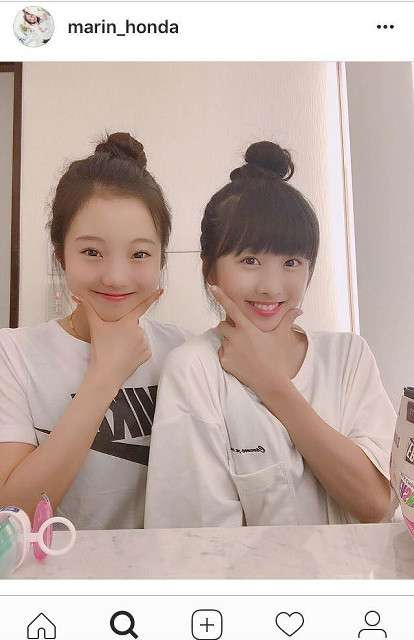 本田真凜、「完璧かわいすぎ」望結との姉妹ショット公開…「2人とも超美人」と絶賛の声