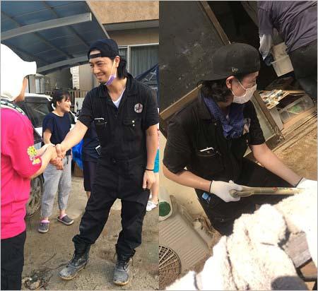 元東方神起・JYJジェジュン 広島でボランティア活動「皆んなの力も是非貸して下さい!」