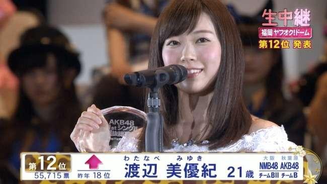 元NMB48・渡辺美優紀が本格的に活動再開 「みるきーおかえり」の声