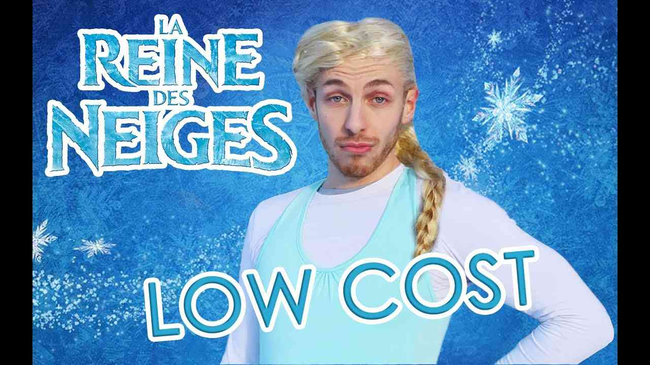 LA REINE DES NEIGES LowCost (Alex Ramirès) - YouTube