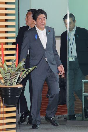 安倍首相、広島視察を中止=股関節周囲炎で:時事ドットコム