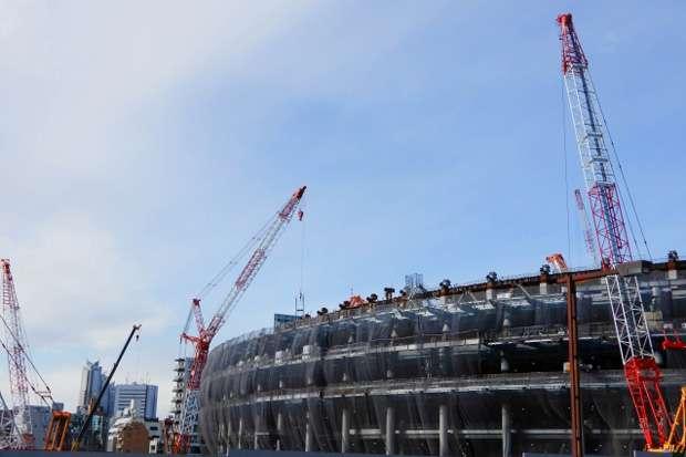 東京五輪・新国立競技場の建設作業員が過酷な労働環境明かす「ビンタで眠気しのいだ」|ニフティニュース