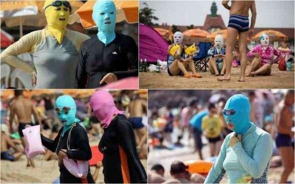 夏でもマスクしている人どう思いますか?