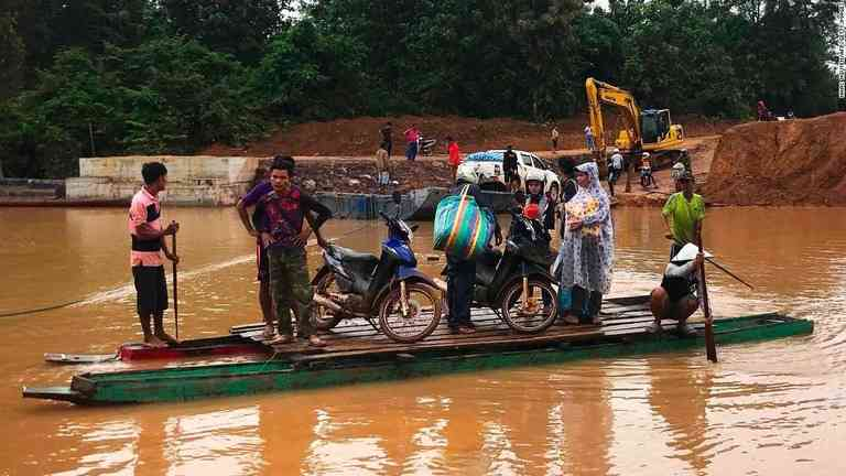 CNN.co.jp : ラオスのダム決壊、カンボジアでも2万5000人が避難