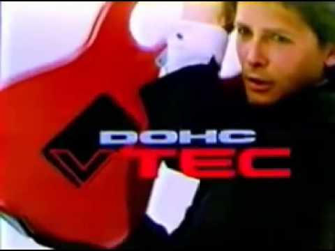 1989年CM HONDA  インテグラ  「カッコインテグラ」 マイケル・J・フォックス - YouTube