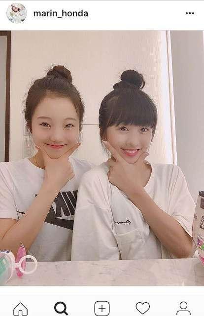 本田真凜、「完璧かわいすぎ」望結との姉妹ショット公開…「2人とも超美人」と絶賛の声 : スポーツ報知