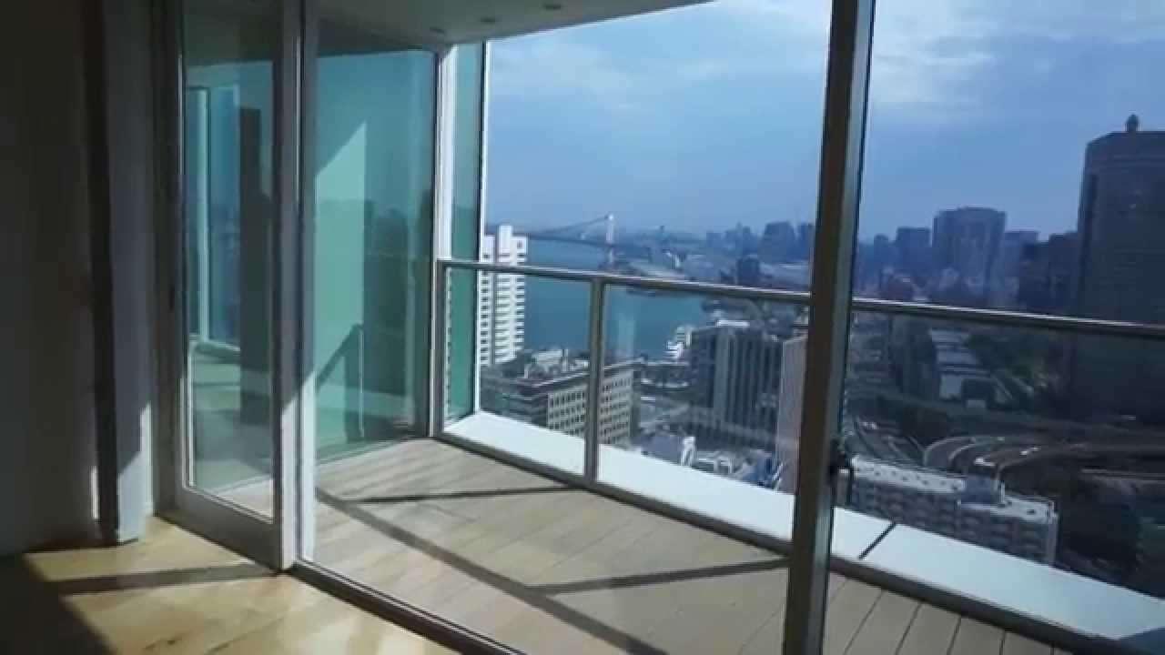 スカイハウス浜離宮24階(ペントハウス3LDK-260.36㎡)の室内動画 - YouTube