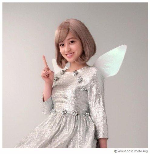 橋本環奈、金髪の妖精姿が可愛すぎ「リアル天使」「美しい」と絶賛の声相次ぐ - モデルプレス