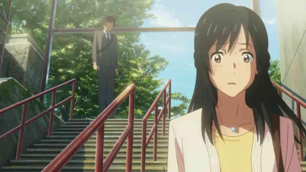 Your Name (君の名は/ 너의 이름은 / Kimi no Na wa): Last Scene - YouTube