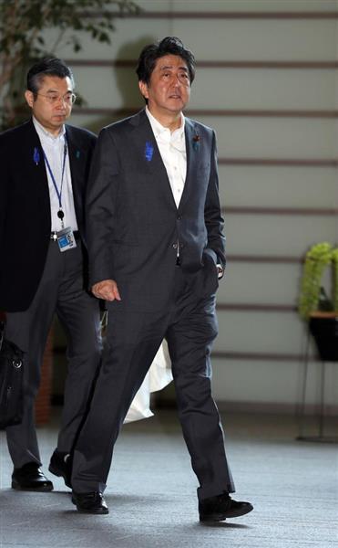 【西日本豪雨】安倍首相が15日の広島県視察を取りやめ 「股関節周囲炎」の診断受け - 産経ニュース