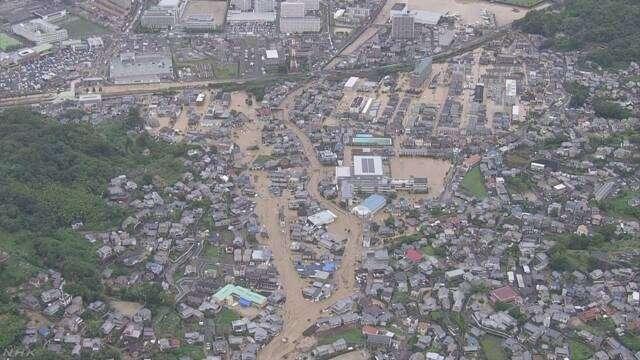 大雨 6人死亡 少なくとも38人が安否不明(9時) | NHKニュース