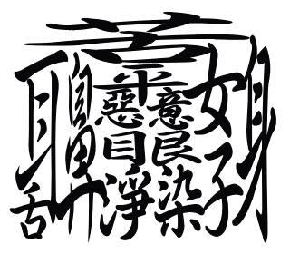 自分のことを漢字だけで表して下さい