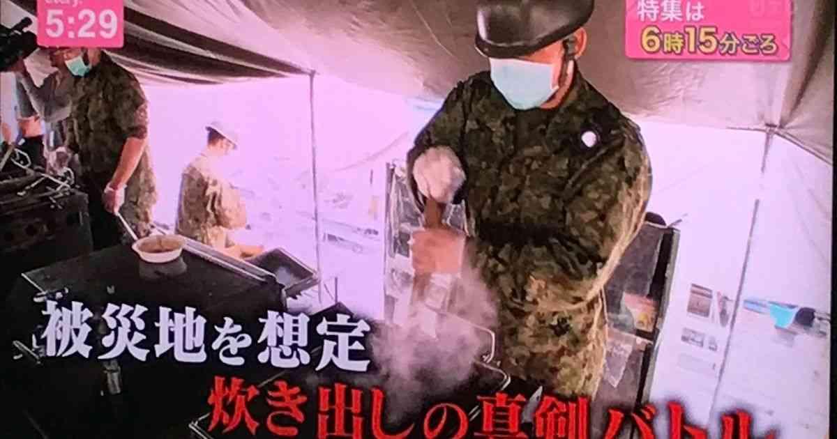 炊事能力向上のために名誉をかけた炊事競技会を全力で行う陸上自衛隊かっこよすぎ - Togetter