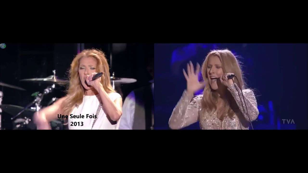 Celine Dion - All By Myself High note (Side by Side) - YouTube