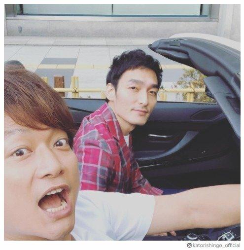 香取慎吾&草なぎ剛、オープンカーでドライブに反響「しんつよ仲良し」「吾郎ちゃんが嫉妬しちゃう」 - モデルプレス