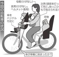 抱っこ自転車してますか?