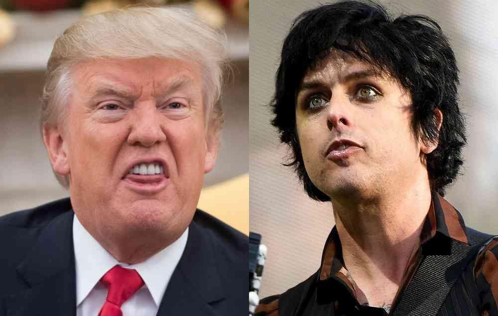 グリーン・デイのビリー・ジョー、トランプ大統領を支持するファンに自身のアルバムを聴くなと求める | NME Japan