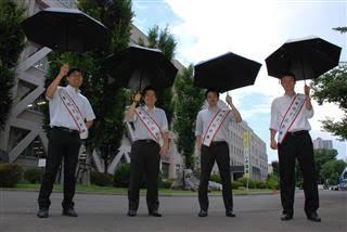 「男の日傘」あり?なし?
