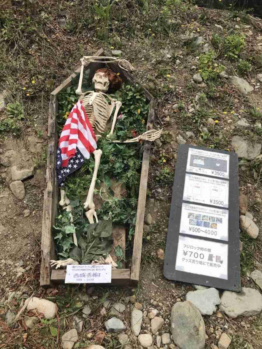 西城秀樹さんの「骸骨」は不謹慎か フジロック「追悼アート」に賛否 : J-CASTニュース