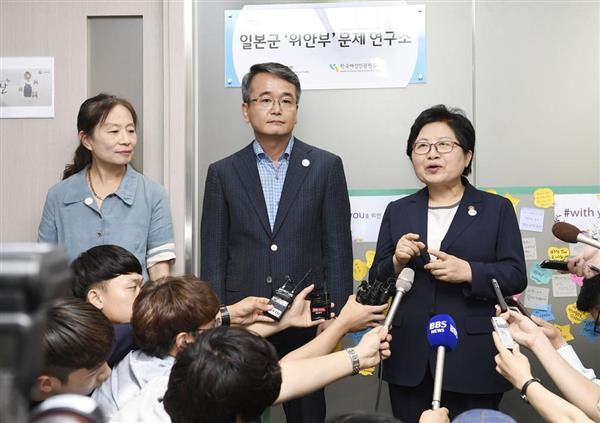 【歴史戦】韓国で慰安婦問題研究所が開所 所長は日韓合意反対派 - 産経ニュース