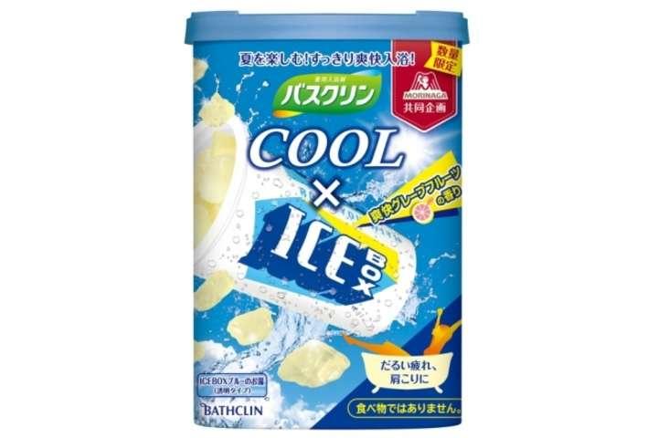 """あの「ICEBOX」アイスが入浴剤に!?""""爽快なクール感""""を楽しむバスクリンクール [えんウチ]"""