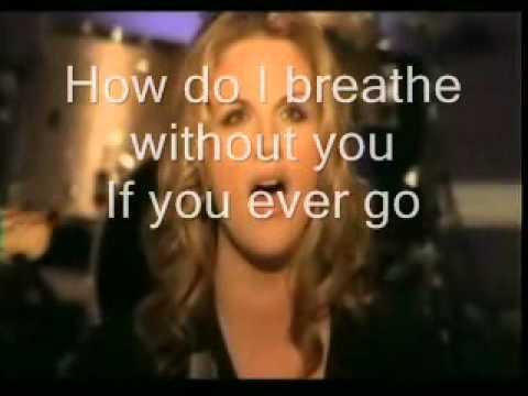 How do I live without you ( Trisha Yearwood) video and lyrics - YouTube