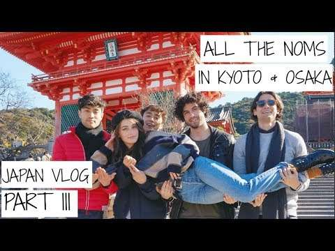 Eating Our Way Through JAPAN   Japan Vlog - Part 3   Jessica Clements - YouTube
