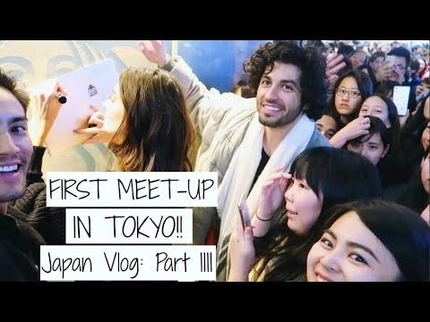 My First MEET UP!   Japan Vlogs   Jessica Clements - YouTube