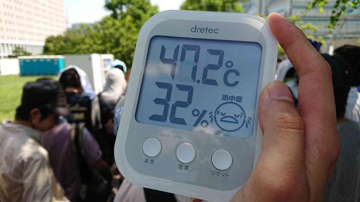コミケ初日 熱気で180人近くが体調不良に