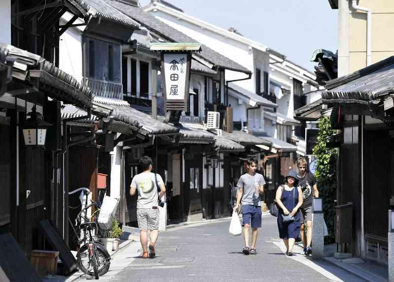 西日本豪雨:観光シーズン閑散 被災に風評 倉敷、宮島 - 毎日新聞