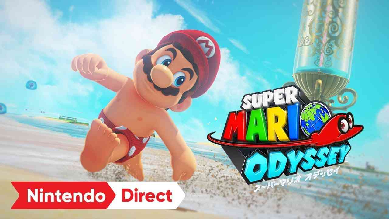スーパーマリオ オデッセイ [Nintendo Direct 2017.9.14] - YouTube