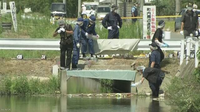 首などが切断された遺体 農業用排水路に 滋賀 草津 | NHKニュース