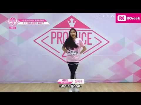 Produce48- Lee Chaeyeon cut - Ep2 - YouTube
