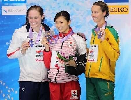 池江璃花子 100Mバタフライ、56秒08の日本新で金!今季世界最速「メチャメチャ楽しい」